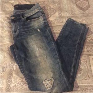 Express Mia Midrise Jeans Size 6
